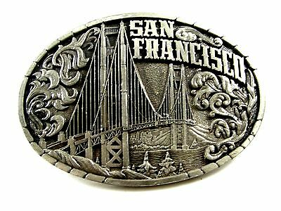 1981 San Francisco Belt Buckle by Indiana Metal Craft 092614