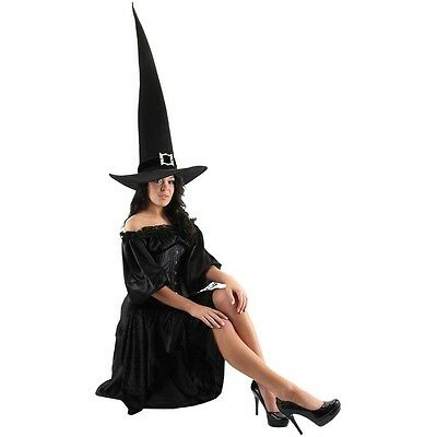 Giant Witch Hat Adult Womens Halloween Costume Fancy Dress Accessory