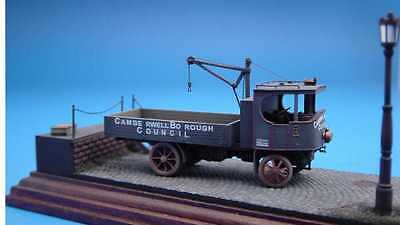 Hauler Models 1/87 SUPER SENTINEL STEAM WAGON WITH JIB CRANE