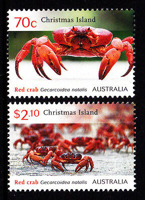 2014 Christmas Island Red Crab Migration - MUH Stamps