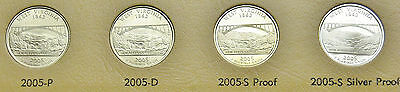 2005 P 2005 D 2005 S Proof 2005 S Silver Proof West Virginia State Quarters A7