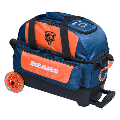 KR Strikeforce NFL Chicago Bears 2 Ball Roller Bowling Bag