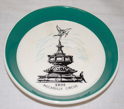 """Wade Pottery """"Eros Piccadilly Circus"""" Collector's Plate"""