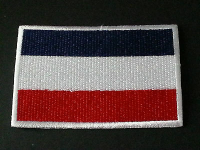 National World Country Embroidered Flag Sew/Iron On Patch:- Netherlands