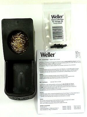 0051512499 WELLER WDC Soldering Tip Dry Cleaning System with Replaceable Wool