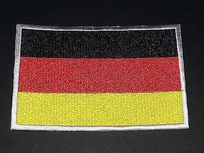 National World Country Embroidered Flag Sew/Iron On Patch:- Germany