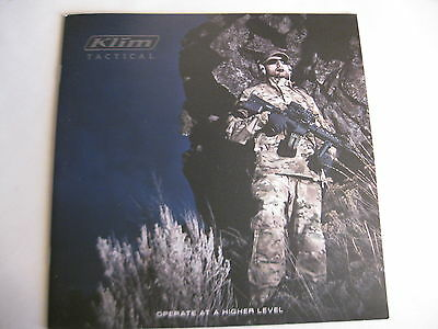 Klim Tactical Booklet / 2014 NEW 14 Pages