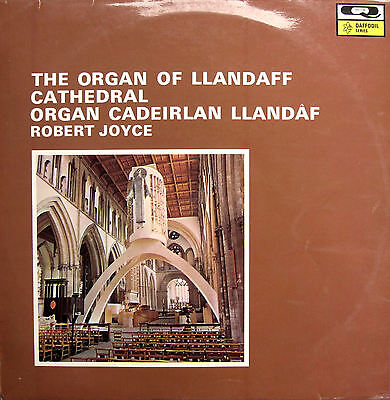 The Organ Of Llandaff Cathedral Robert Joyce [1962] Qualiton DAF 204 EX/VG
