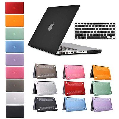 """Rubberized Hard Shell Case Cover Keyboard For Macbook Air 11 13 Pro 13 15""""Retina"""
