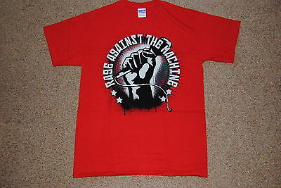 Rage Against The Machine Mic Check T Shirt New Official Killing In The Name Of