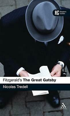 NEW Fitzgerald's the Great Gatsby: A Reader's Guide by Nicolas Tredell Hardcover