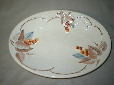 Vintage Wade Bramble Pattern  12  Inch Platter With Autum Colors     England