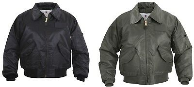 CWU-45P Flight Jacket Military Air Force Tactical Flight Coat Rothco 7520 7522