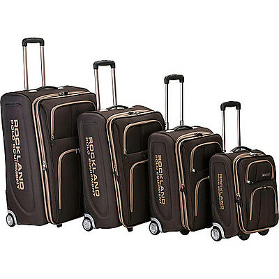 Rockland Luggage Polo Equipment 4 Piece Luggage Set