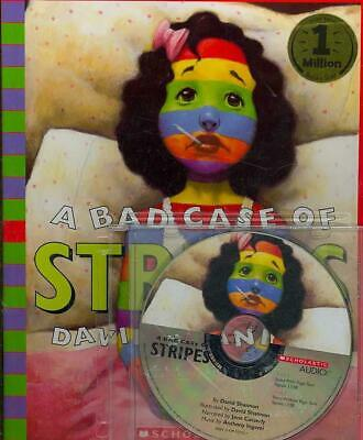 A Bad Case of Stripes [With Book] by David Shannon (English) Compact Disc Book F