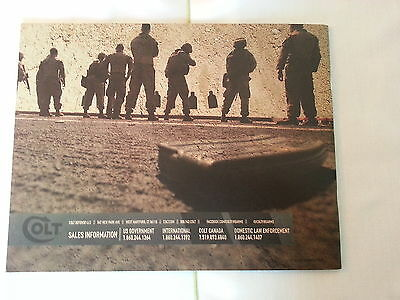 Colt 2013 Firearms Military & Law Enforcement Catalog Booklet / New / 30 Pages