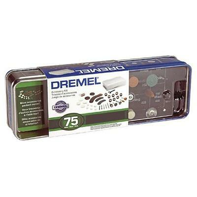 Dremel 707 Multi Rotary Tool Accessory Set 75 Piece In Storage Tin