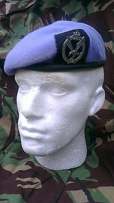 Army Air Corps Beret and Cap Badge Size 59 Officer Quality