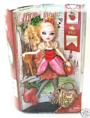 Ever After High APPLE WHITE ROYAL DOLL DAUGHTER OF SNOW WHITE NEW