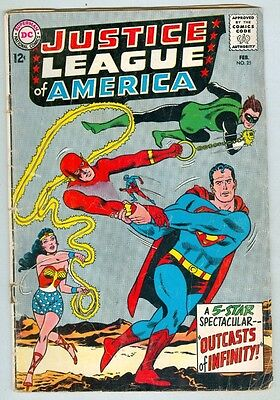 Justice League of America #25 February 1964 G/VG