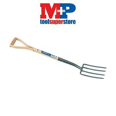 Draper 14304 Carbon Steel Border Fork with Ash Handle