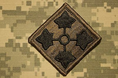 Military Patch US Army 4th Infantry Division BDU OD Green Perfect Cond Authentic