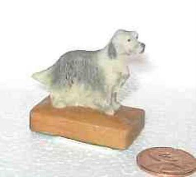 Figurine Retired ENGLISH SETTER Mini Figurine by Arista CLEARANCE SALE