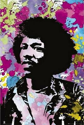 JIMI HENDRIX MAXI POSTER BRAND NEW /& SEALED 61CM X 91CM POSTER