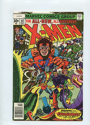 Uncanny X-Men # 107 - First 1St Appearance Starjammers - Marvel Wolverine