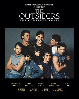The Outsiders - the Movie Cast,  8x10 Color Photo