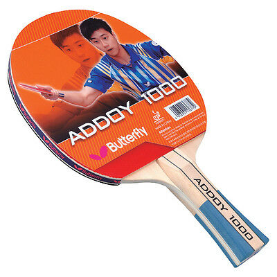 Butterfly Table Tennis Blade / Bat - Addoy 1000 Long Handle Racquet