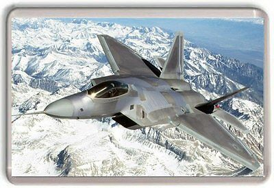 Lockheed F-22 Raptor Fridge Magnet 01