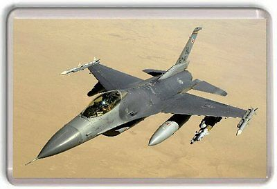 F-16 Fighting Falcon Fridge Magnet 01