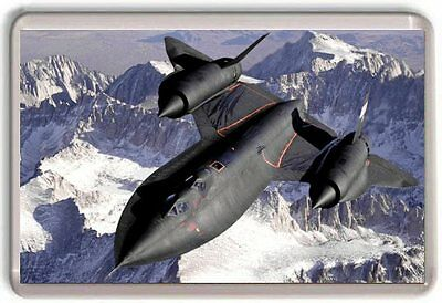Lockheed SR-71 Blackbird Fridge Magnet 01