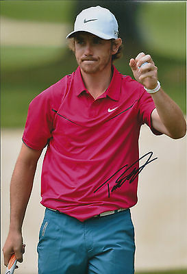 Tommy FLEETWOOD SIGNED Autograph 12x8 Photo AFTAL COA European Tour Winner