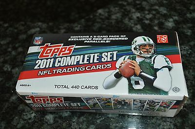 2011 Topps Football Complete Factory Sealed Set!!! 5-Card Pack Exclusive Red!!!