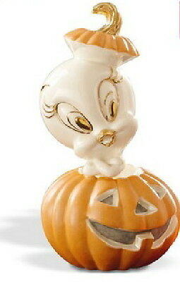 Lenox Looney Tunes TWEETY BIRD HALLOWEEN PUMPKIN New in Box