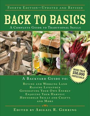 Back to Basics: A Complete Guide to Traditional Skills (English) Hardcover Book