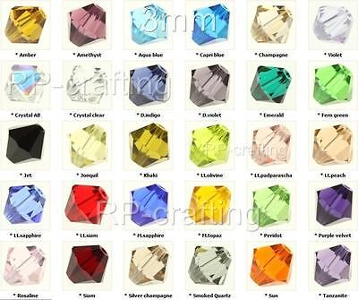 100 Austria bicone crystal beads 3mm for Austrian 5301/5328-U pick colors #AB6