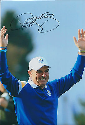 Paul McGINLEY SIGNED AUTOGRAPH Photo AFTAL COA Ryder Cup Golf Europe Victory