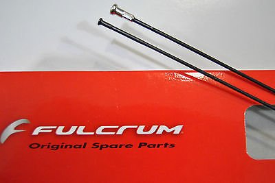 Raggio FULCRUM Red Metal 3 Ant.Dx/Post.Sx Black 265mm/SPOKE FULCRUM RED METAL 3