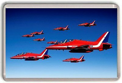 Red Arrows RAF Fridge Magnet 03