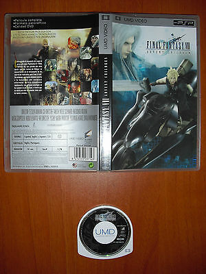 Final Fantasy VII Advent Children [UMD VIDEO] PSP Versión Española en Castellano