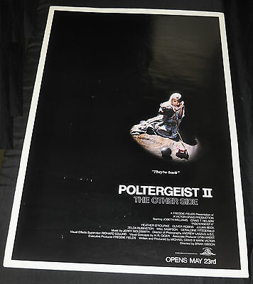 Poltergeist 2 The Other Side Original One 1sh Sheet Movie Poster - (1986) ITB WH