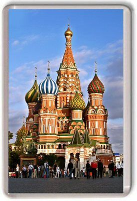Saint Basil's Cathedral, Moscow Fridge Magnet