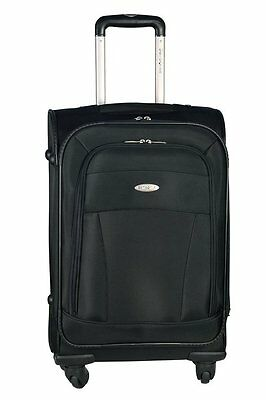"Samsonite 21"" Lift Rolling Carry On Cape May Spinners Upright Suitcase-Black"
