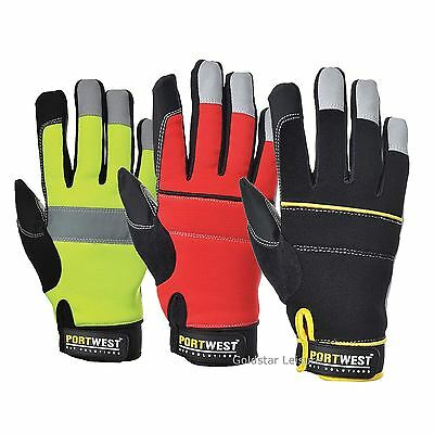 Portwest Tradesman Glove High Performance Glove Safe Workwear Construction A710