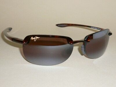 Brand NEW Authentic Polarized MAUI JIM Sandy Beach  Sunglasses Tortoise R408-10