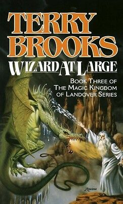 NEW Wizard at Large by Terry Brooks Mass Market Paperback Book (English) Free Sh