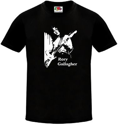 Rory Gallagher - Irish Rock Blues Guitarist T-Shirt - Sizes - Small to 5XL